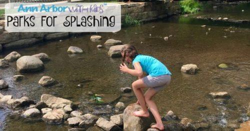 Ann Arbor Parks for Splashing