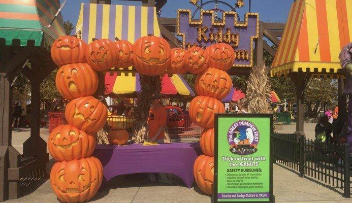 Cedar Point Halloweekends with Kids - Trick or Treat
