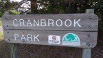 Cranbrook Playground - Sign