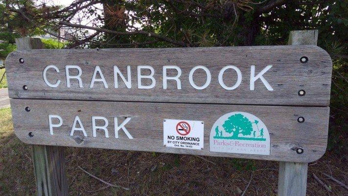 Cranbrook Playground - Sign
