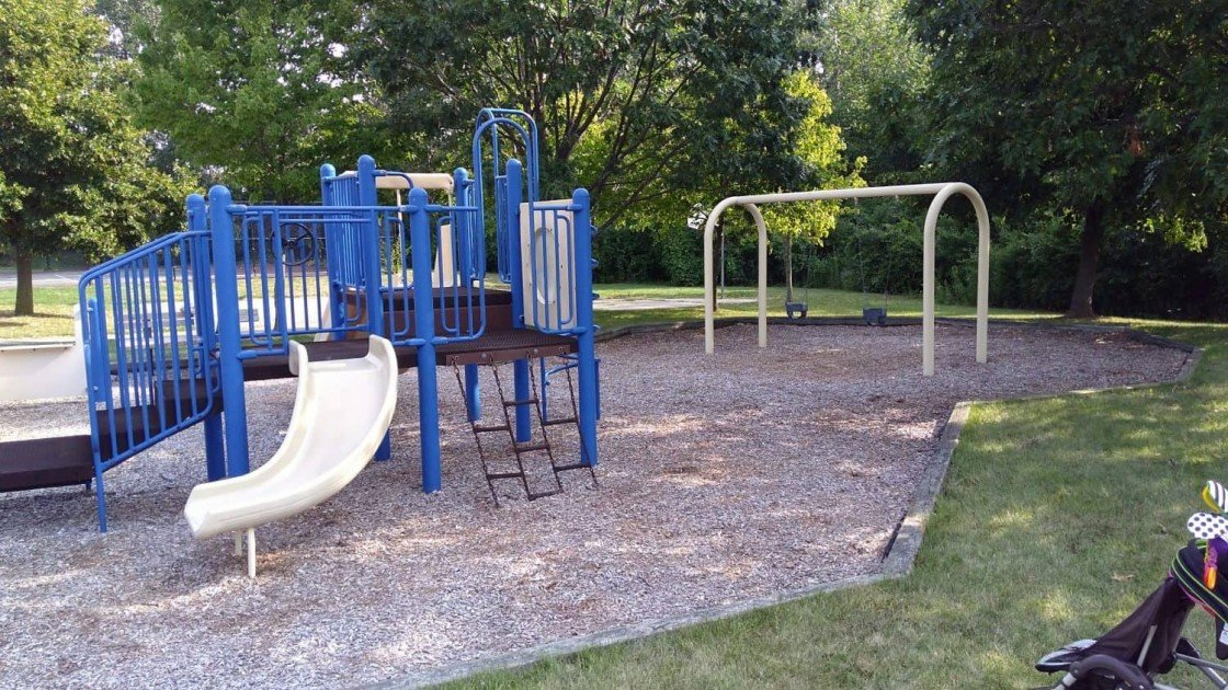 Cranbrook Playground - Structure & Swings