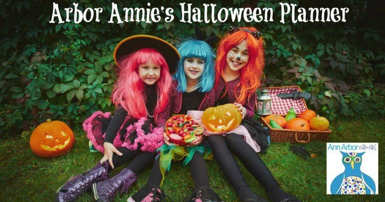 Arbor Annie's Halloween Planner from Ann Arbor with Kids