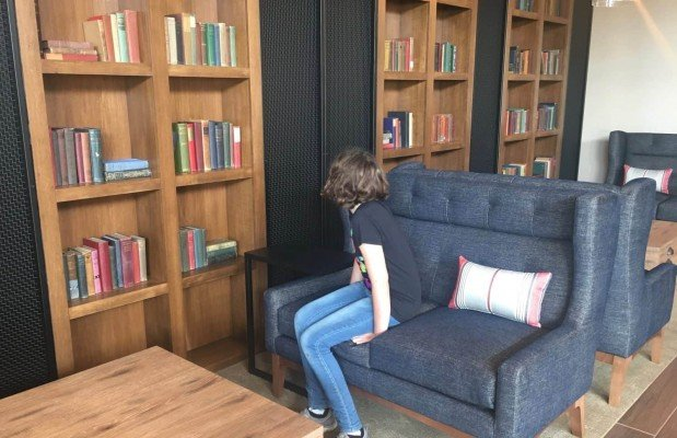 Staycation at Hyatt Place Ann Arbor - Reading Nook