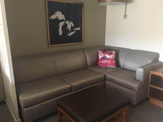 Staycation at Hyatt Place Ann Arbor - Sofa Area