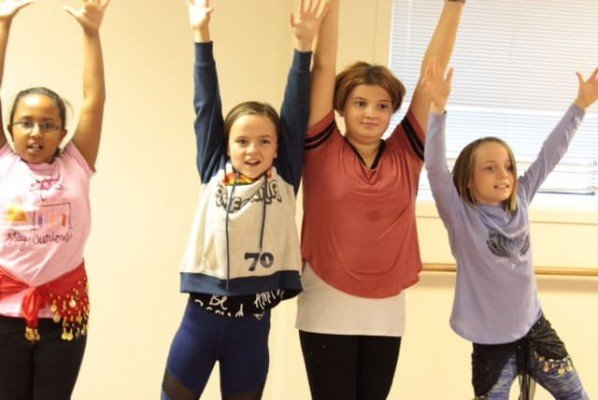Peachy Fitness - Tween Zumba - Hands Up