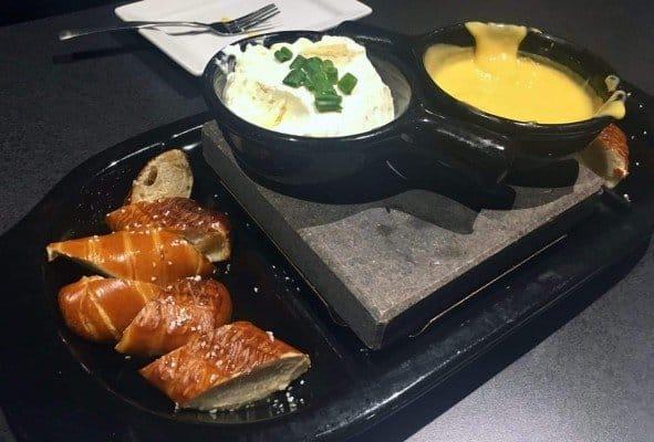 Black Rock Review - Pretzel & Cheese Fondue
