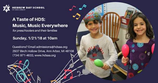 Hebrew Day School - Music, Music Everywhere