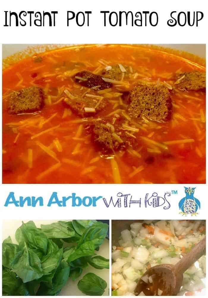 Instant Pot Tomato Soup - Pinterest