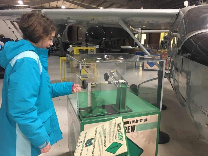 Yankee Air Museum - Five Simple Machines