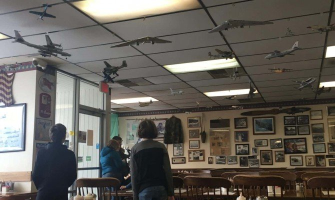 Yankee Air Museum - Bomber Restaurant Decor
