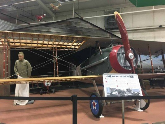 Yankee Air Museum - World War I Bi-plane