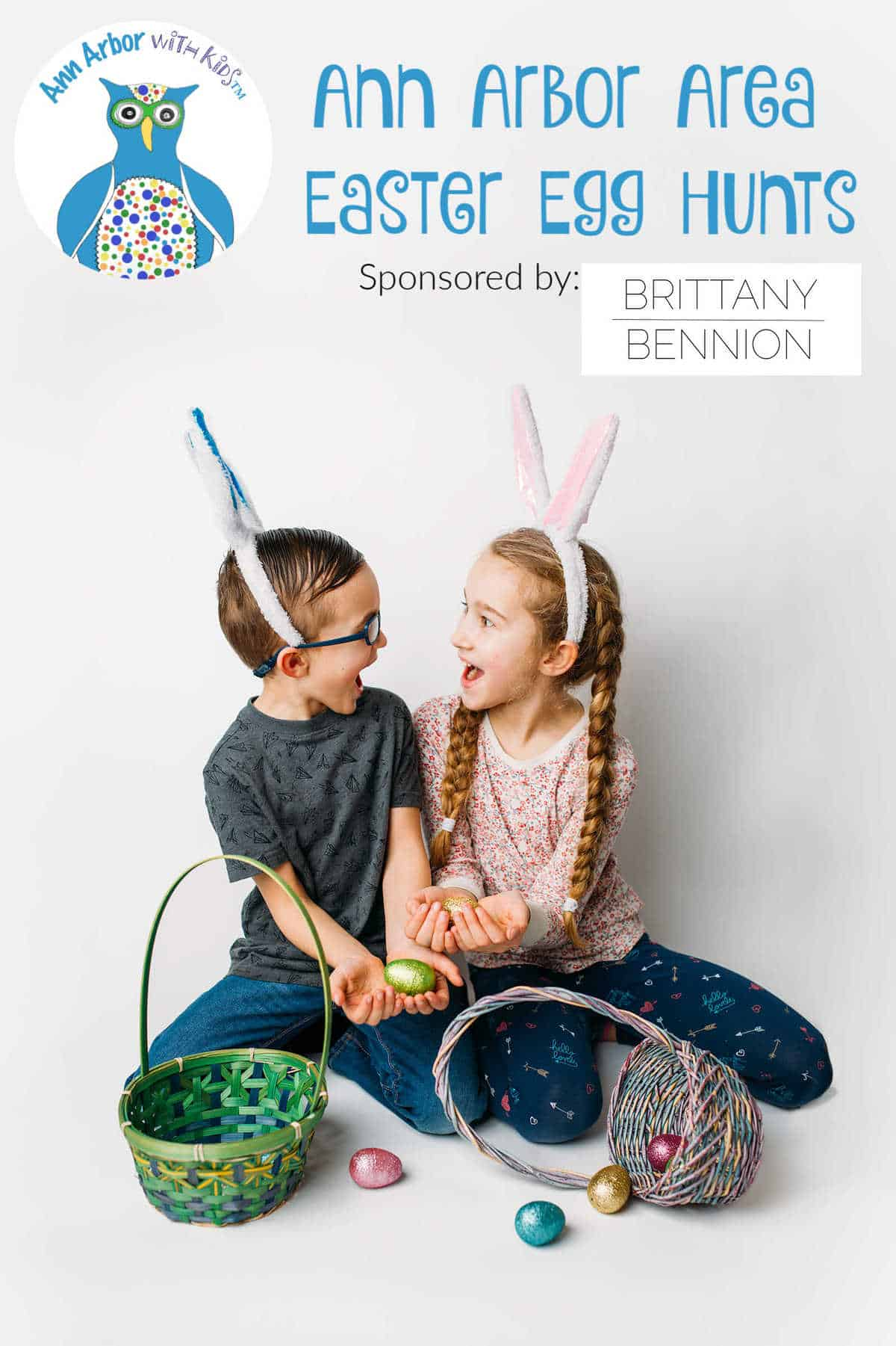 Ann Arbor Easter Egg Hunts sponsored by Brittany Bennion Photography