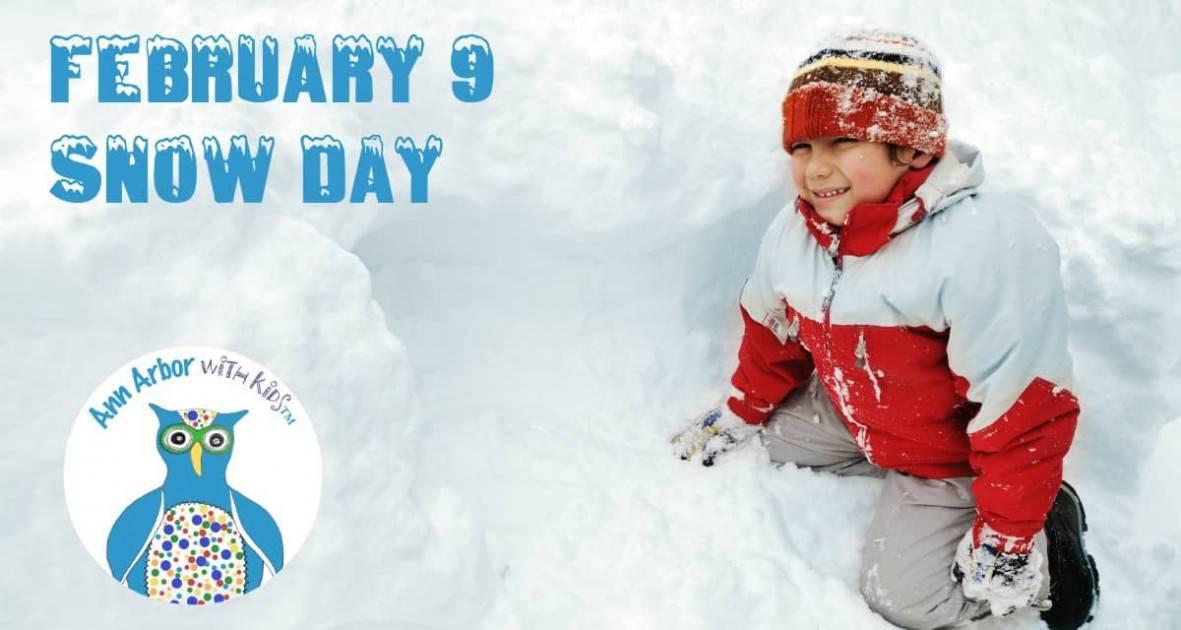Ann Arbor Snow Day - February 9