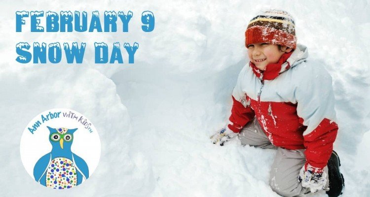 Ann Arbor Snow Day - February 9
