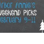 Arbor Annie's Snowy Weekend Picks - February 9-11