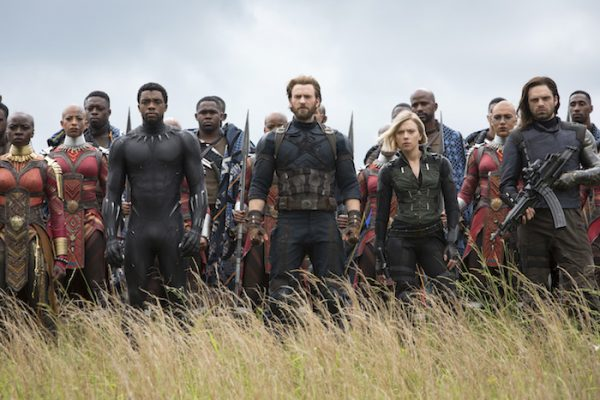 Avengers Infinity War: Trailer - Okoye, Black Panther, Captain America, Black Widow, Winter Soldier