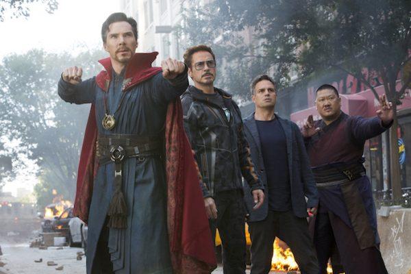 Avengers Infinity War Trailer - Dr Strange, Tony Stark, Bruce Banner, Wong