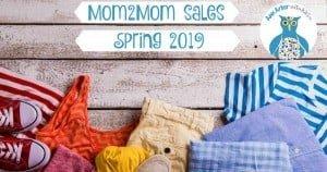 Ann Arbor Mom2Mom Sales - Spring 2019