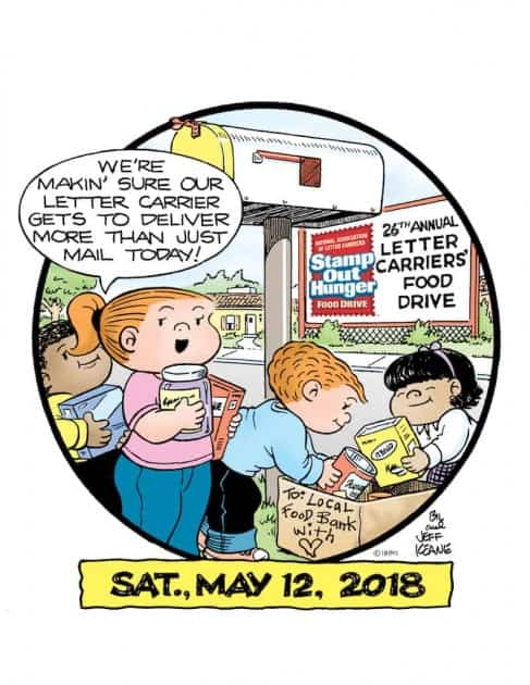 Stamp out Hunger - Saturday, May 12