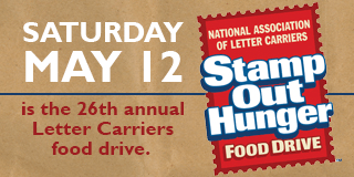 Stamp Out Hunger - May 12