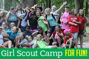 Girl Scout Overnight Camp