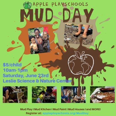 Ann Arbor Mud Day - Apple Playschools