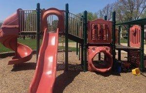 Ann Arbor Burns Park Playground Profile - Larger Structure