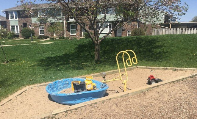 Ann Arbor Esch Park Sandbox
