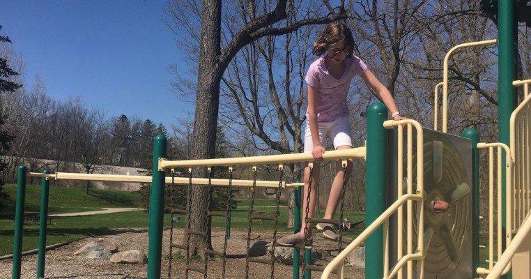 Ann Arbor's Plymouth Park - Chain Ladder