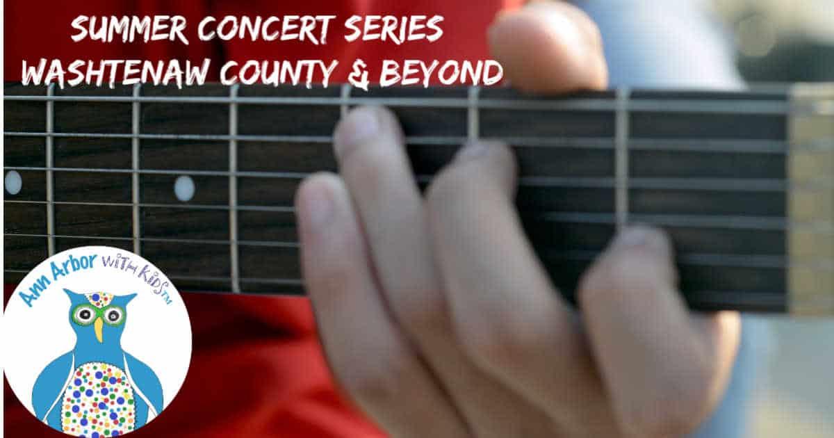 Ann Arbor Summer Concert Series