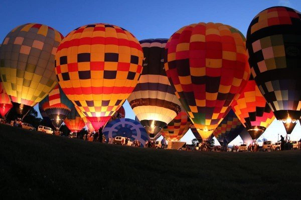 Michigan Challenge Balloonfest - Balloon Glow