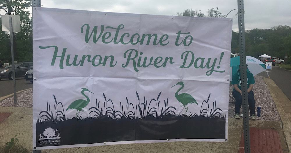 Huron River Day - Sign