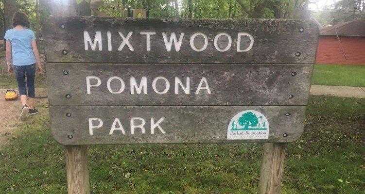 Mixtwood Pomona Park Profile - Sign