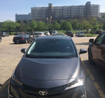MyTownMyPrius - CS Mott Children's Hospital & UM Hospital