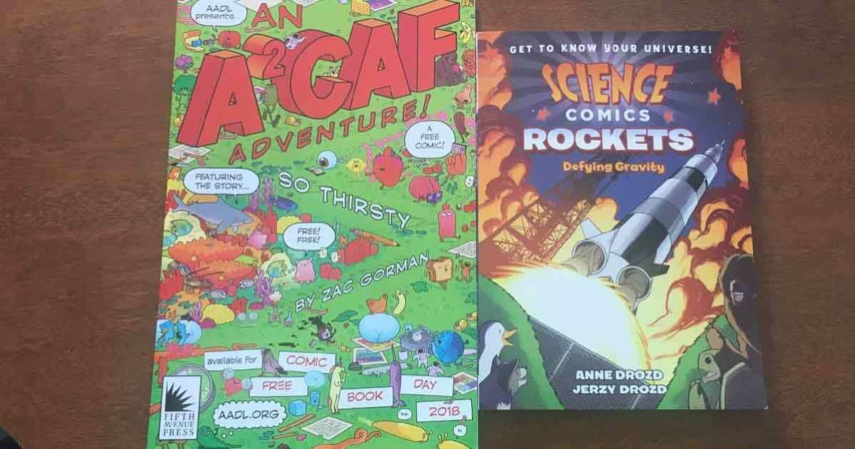 Ann Arbor Comic Arts Festival and Science Comics Rockets