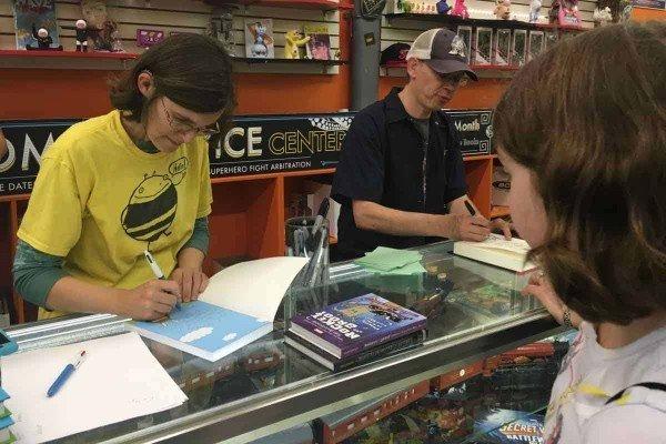 Ann Arbor Comic Arts Festival - Book Signing 2016