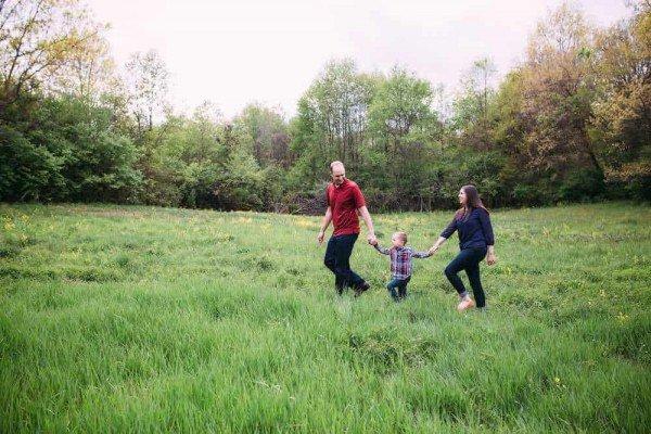Ann Arbor Family Photo Locations - County Farm Park - Photo by Brittany Bennion - Ann Arbor Family Photography