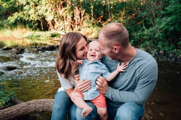 Ann Arbor Family Photo Locations - Parker Mill County Park - Photo by Brittany Bennion - Ann Arbor Family Photography