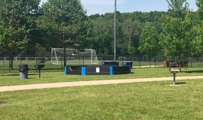 Ann Arbor Fuller Park Pool - Gaga Pit