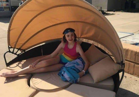 Ann Arbor Fuller Park Pool - Circular Sofa
