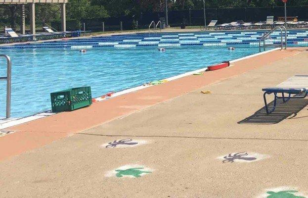 Ann Arbor Fuller Park Pool - Shallow End