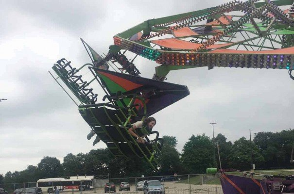 Ann Arbor Jaycees Carnival - Cliff Hanger