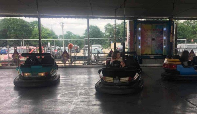 Ann Arbor Jaycees Carnival - Scooter Bumper Cars