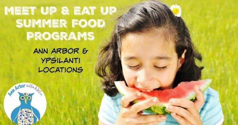 Ann Arbor Summer Food Programs Meet Up & Eat Up