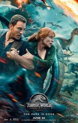 Jurassic World: Fallen Kingdom Review and Parental Guidance - Poster