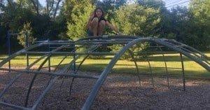 Ann Arbor Brookside Park - Dome Climber