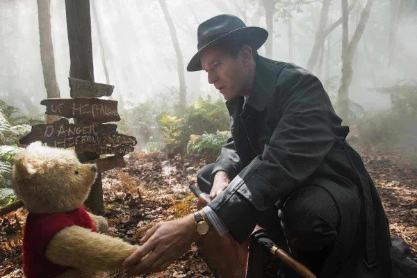 Christopher Robin and Pooh in the Hundred Acre Woods