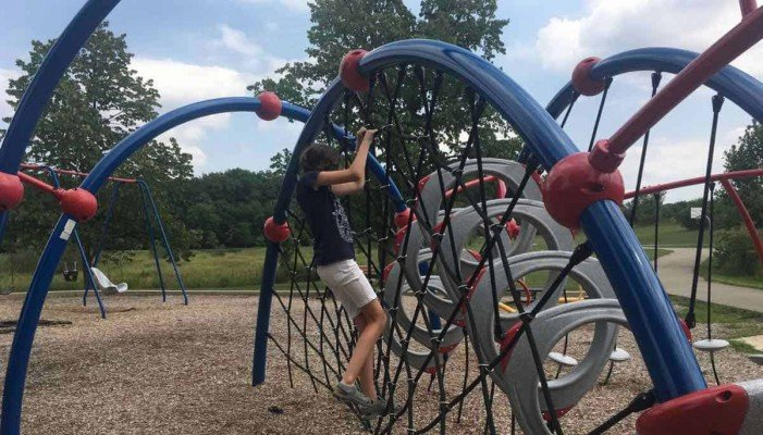 Ann Arbor's Mary Beth Doyle Park Playground Profile - Climbing the Web