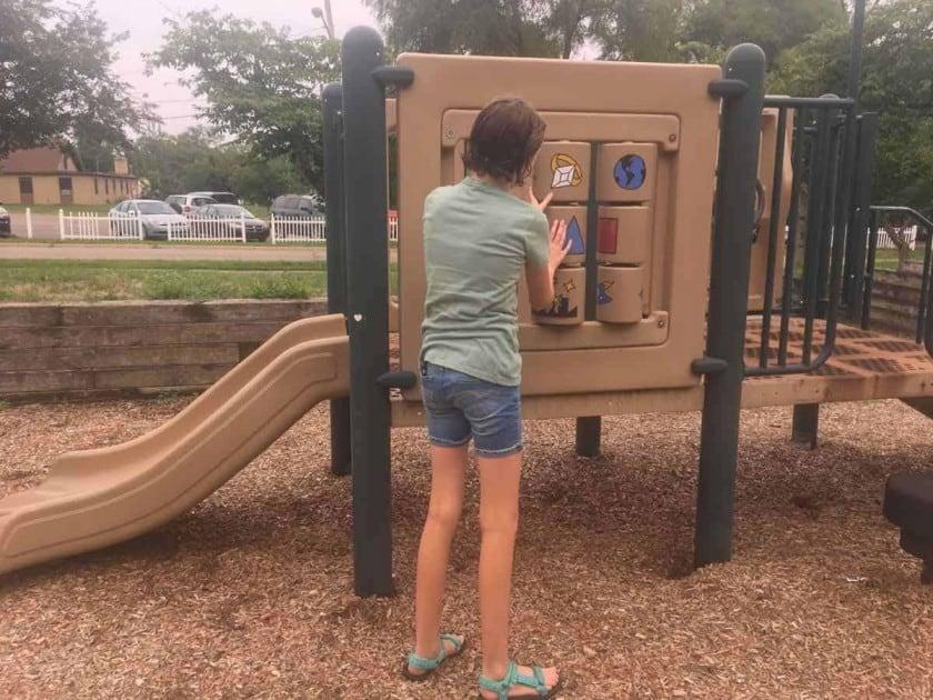 Ann Arbor Rose Park - Tot Structure