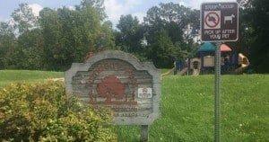 Ann Arbor's Turnberry Park - Sign